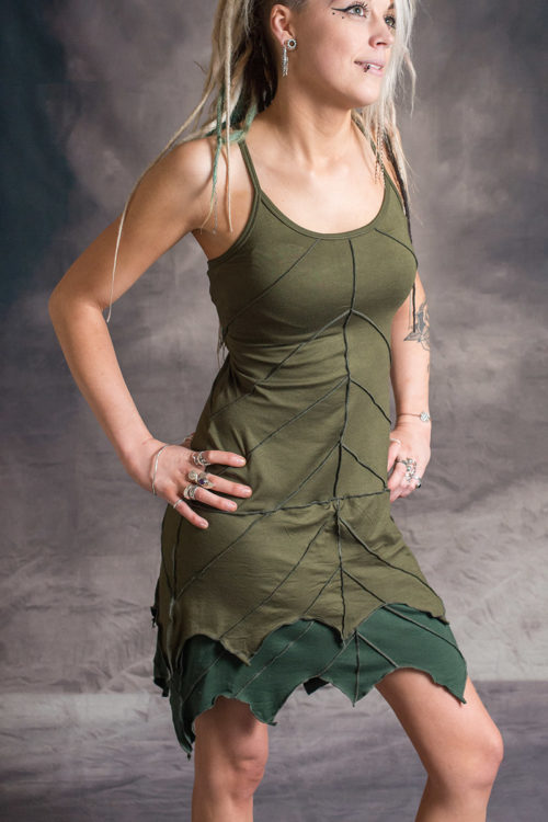 Wobble Leaf Dress