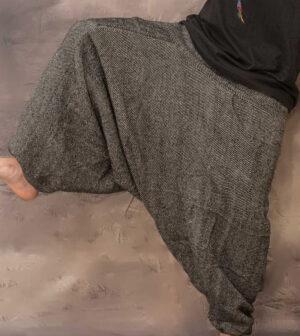 Fleece Lined Harem Pants