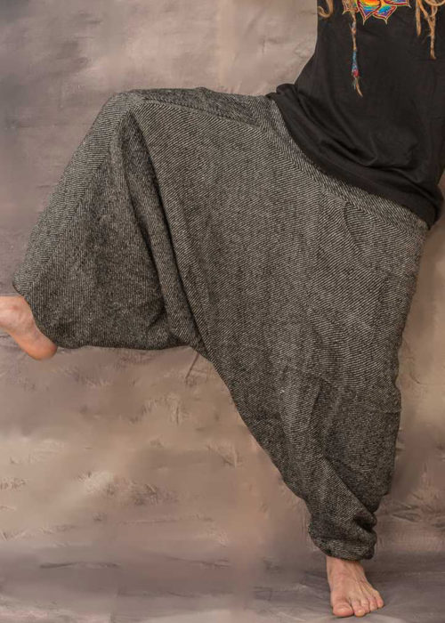 Fleece Lined Harem Pants