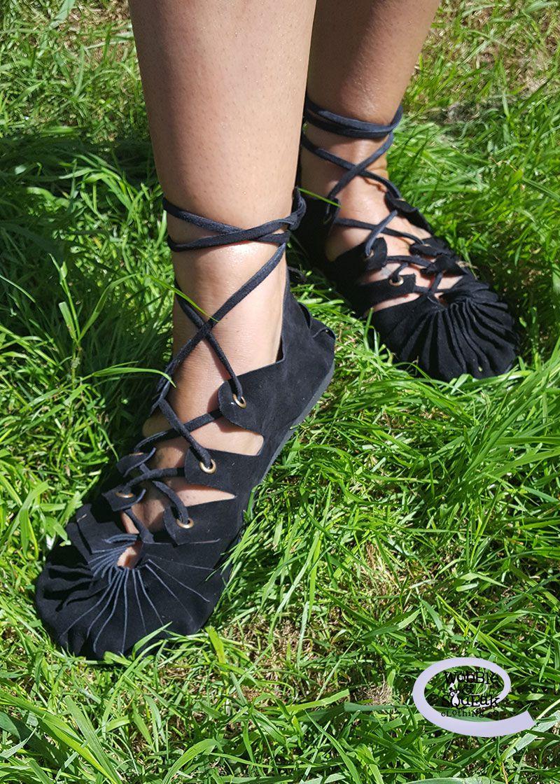 Pixie Sandals Black