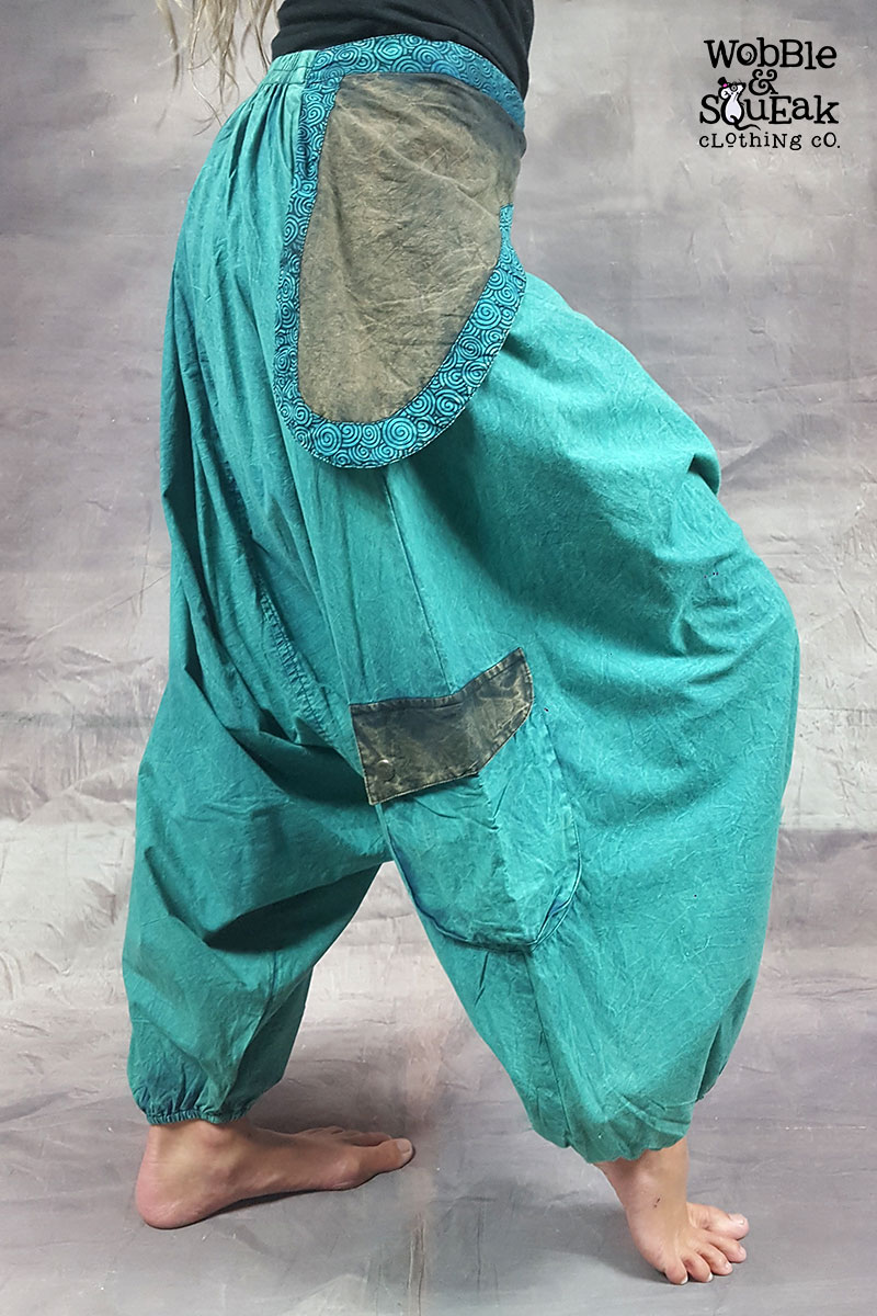 Stonewash Ali Babas Turquoise