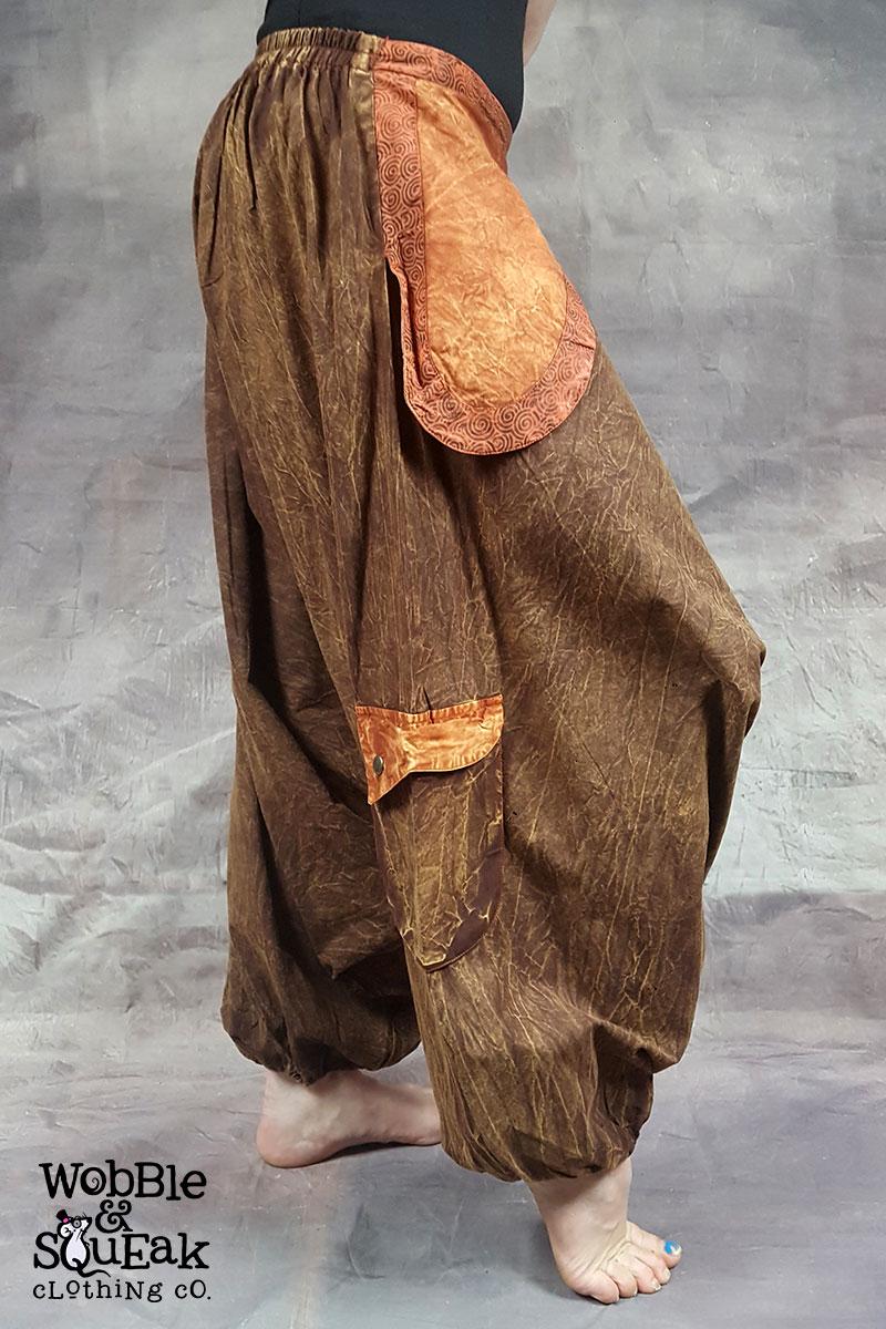 Stonewash Ali Babas Brown