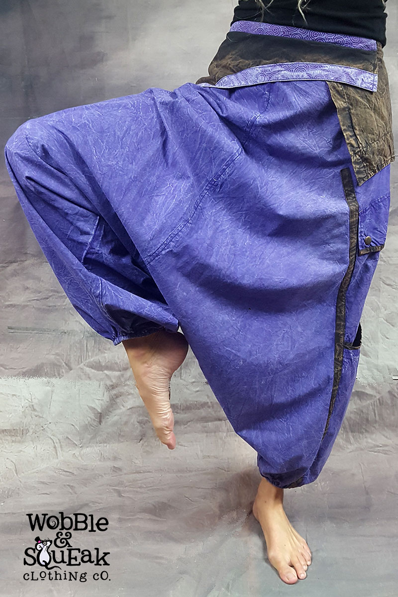 Stonewash Ali Babas Purple