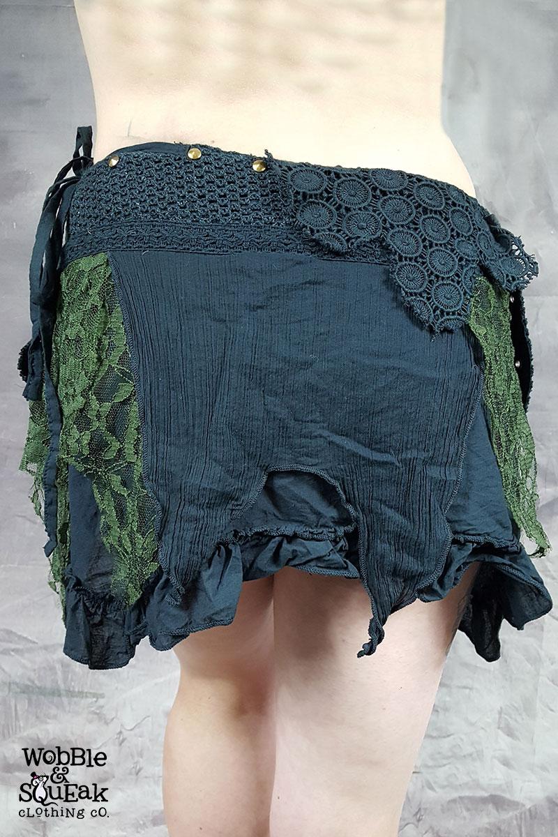 Crepe Skirt Black