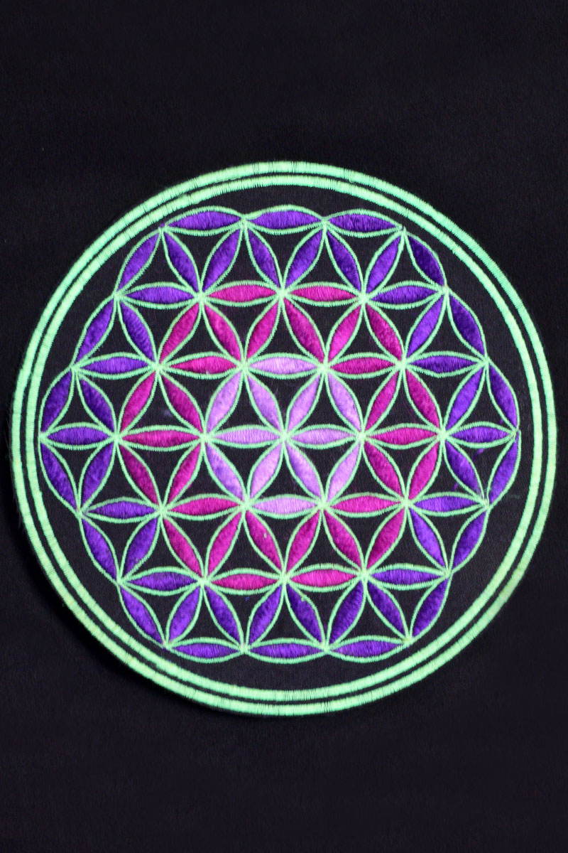 Flower of Life Embroidered Patch
