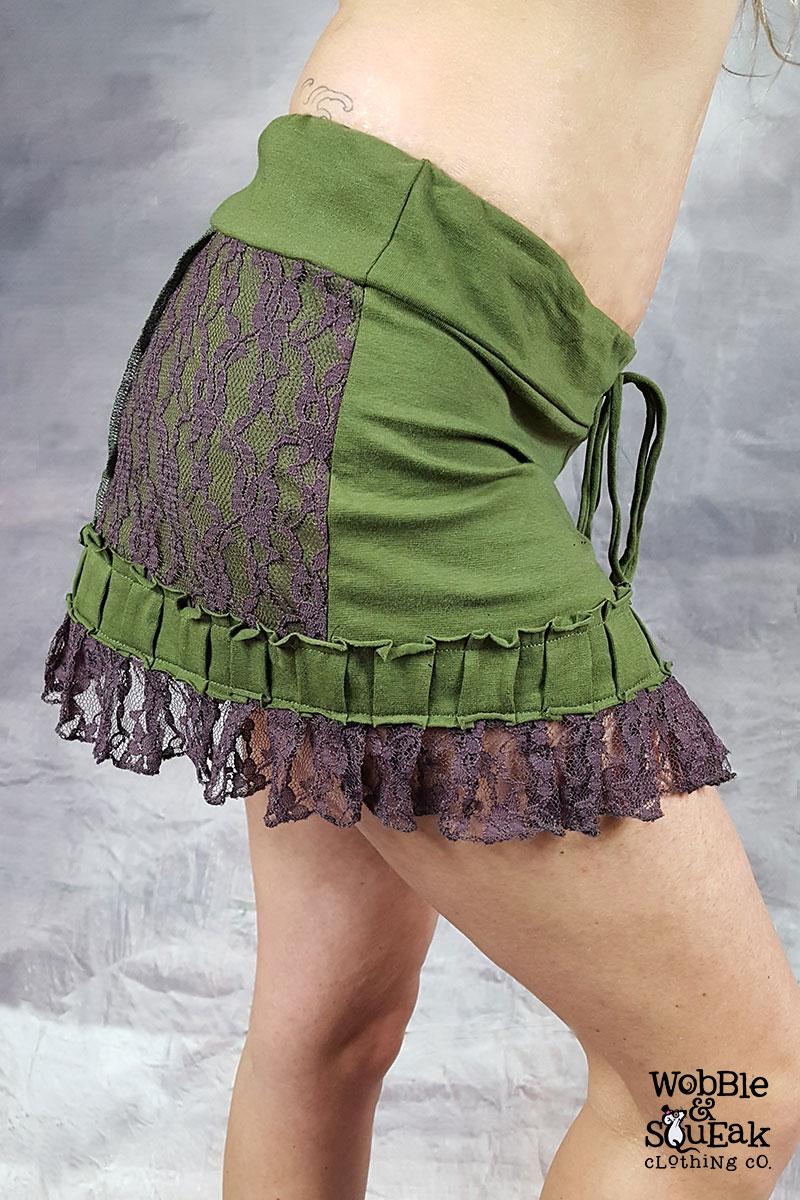 Jamunji Skirt Green