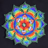 Rainbow Mushroom Embroidered Patch