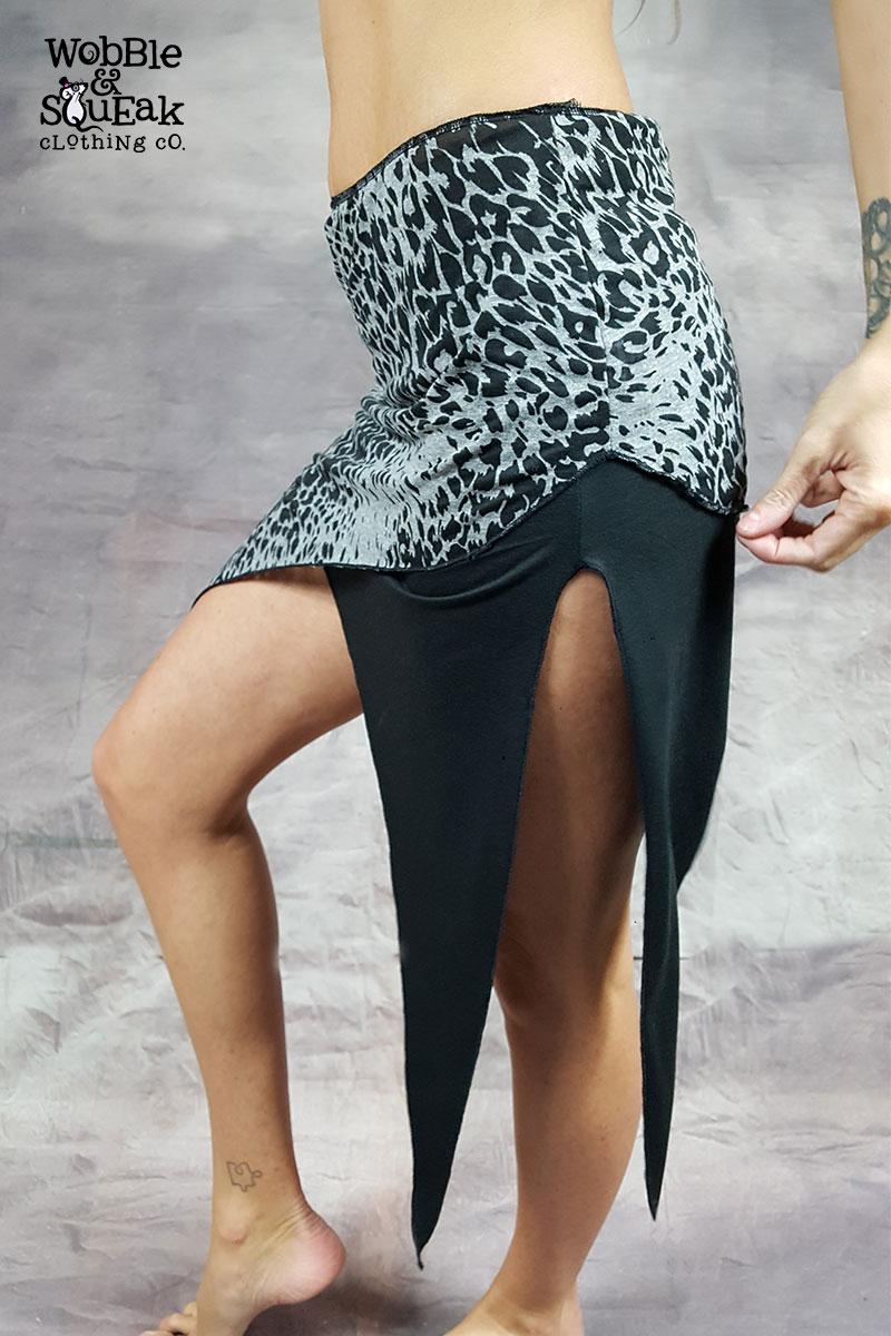 Rave Skirt Black