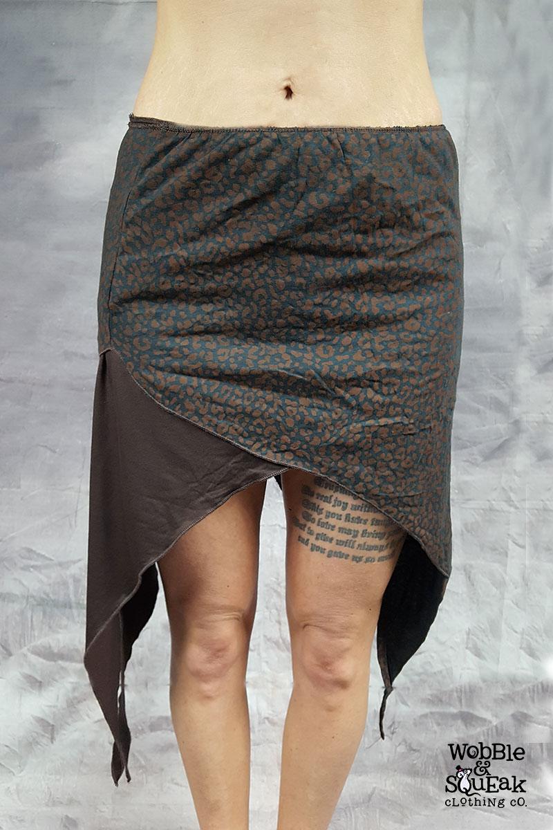 Rave Skirt Brown