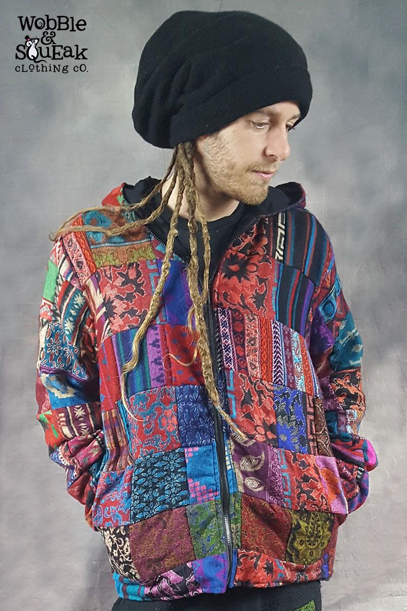 Patchwool Jacket