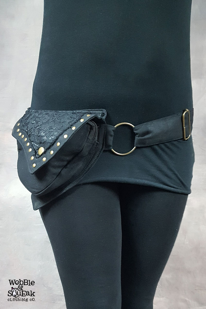 Mango Pocket Belt Black