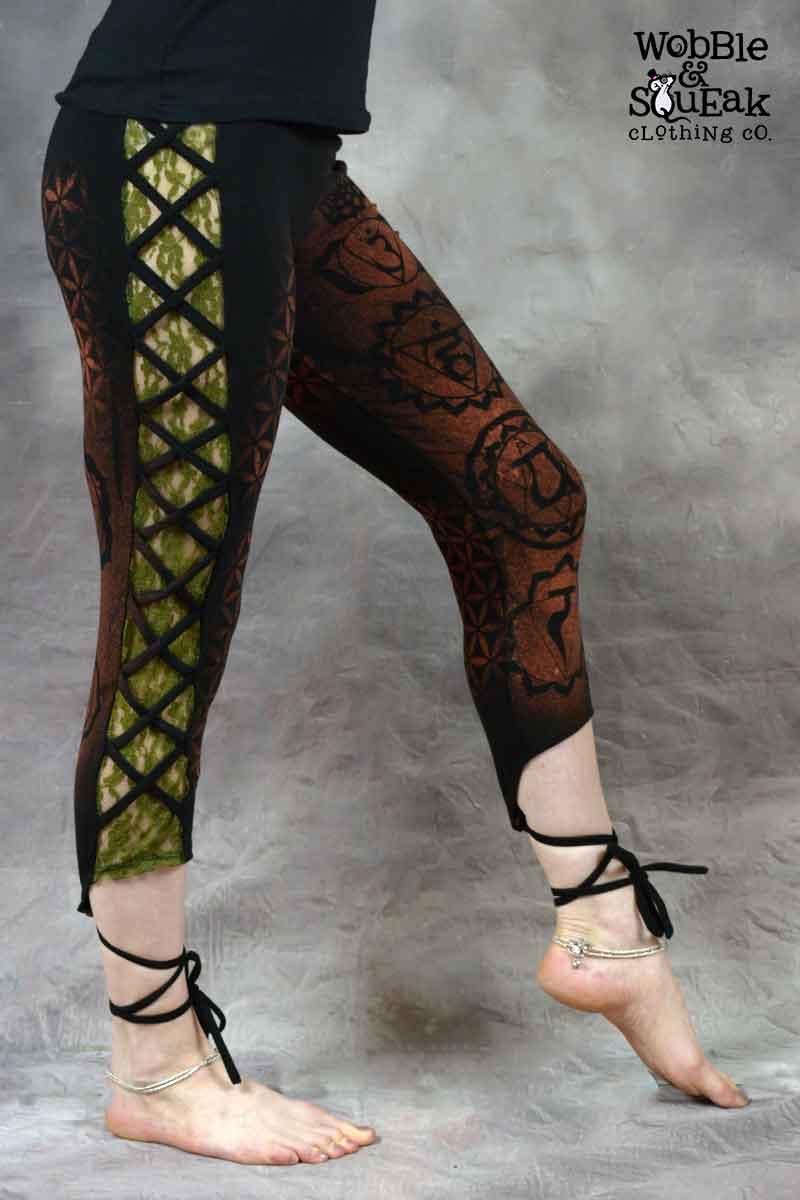 Chakra Leggings Black