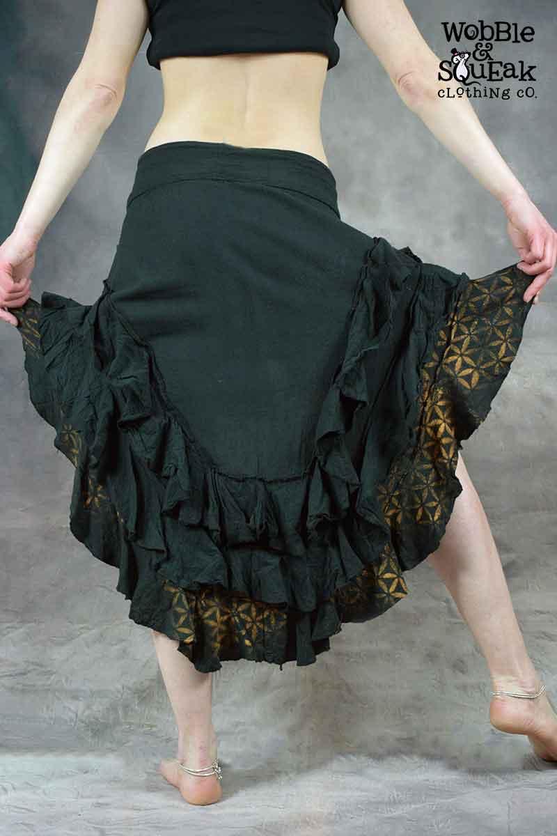 Lunar Skirt Flower of Life