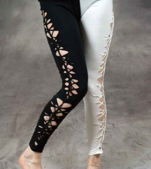 Mishmash Leggings Black/White
