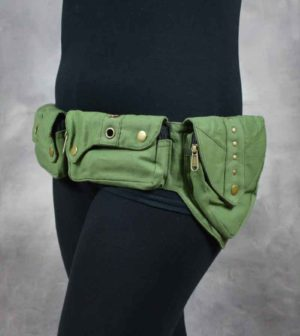 Rokstar Belt Green