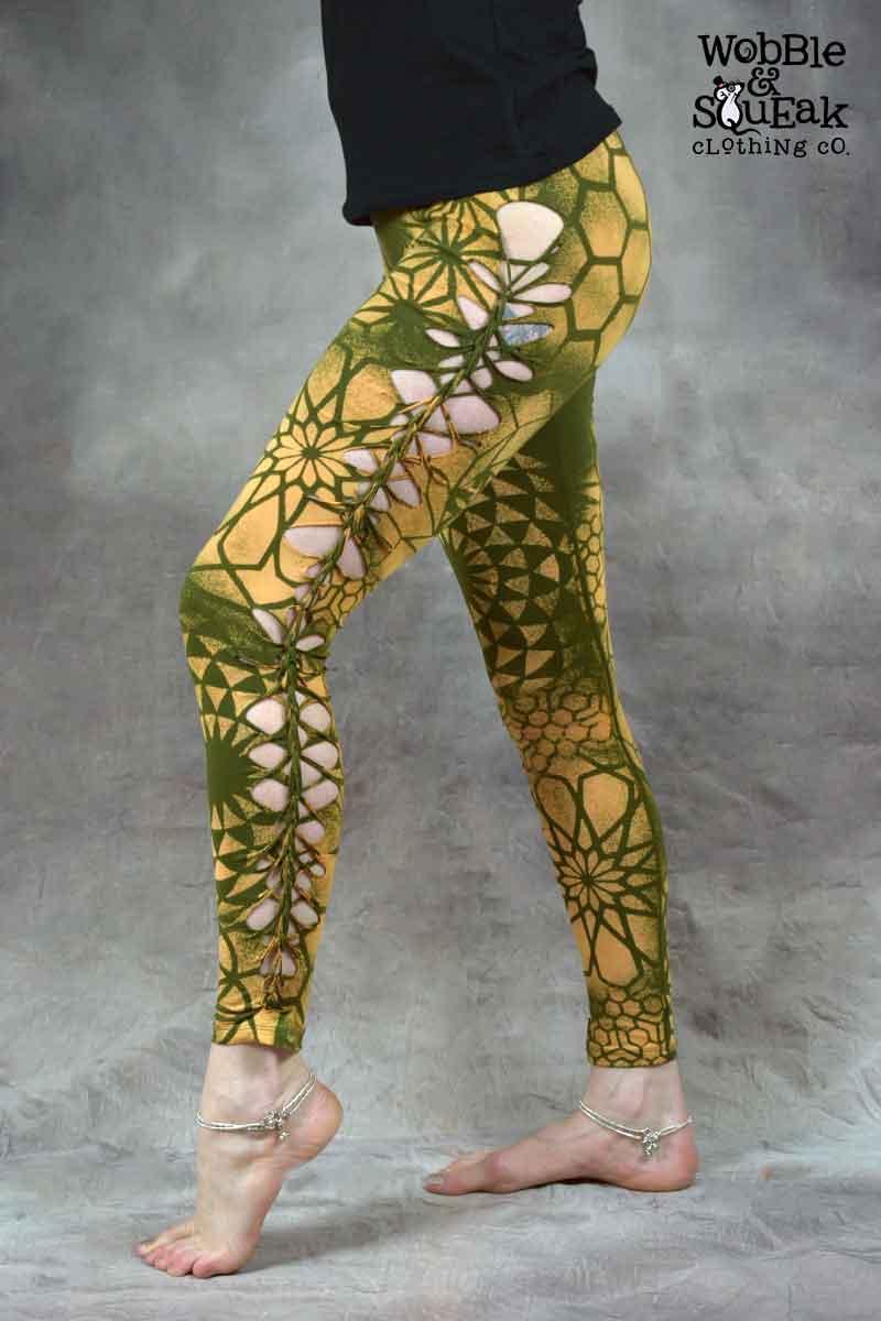 Mandala Leggings Army