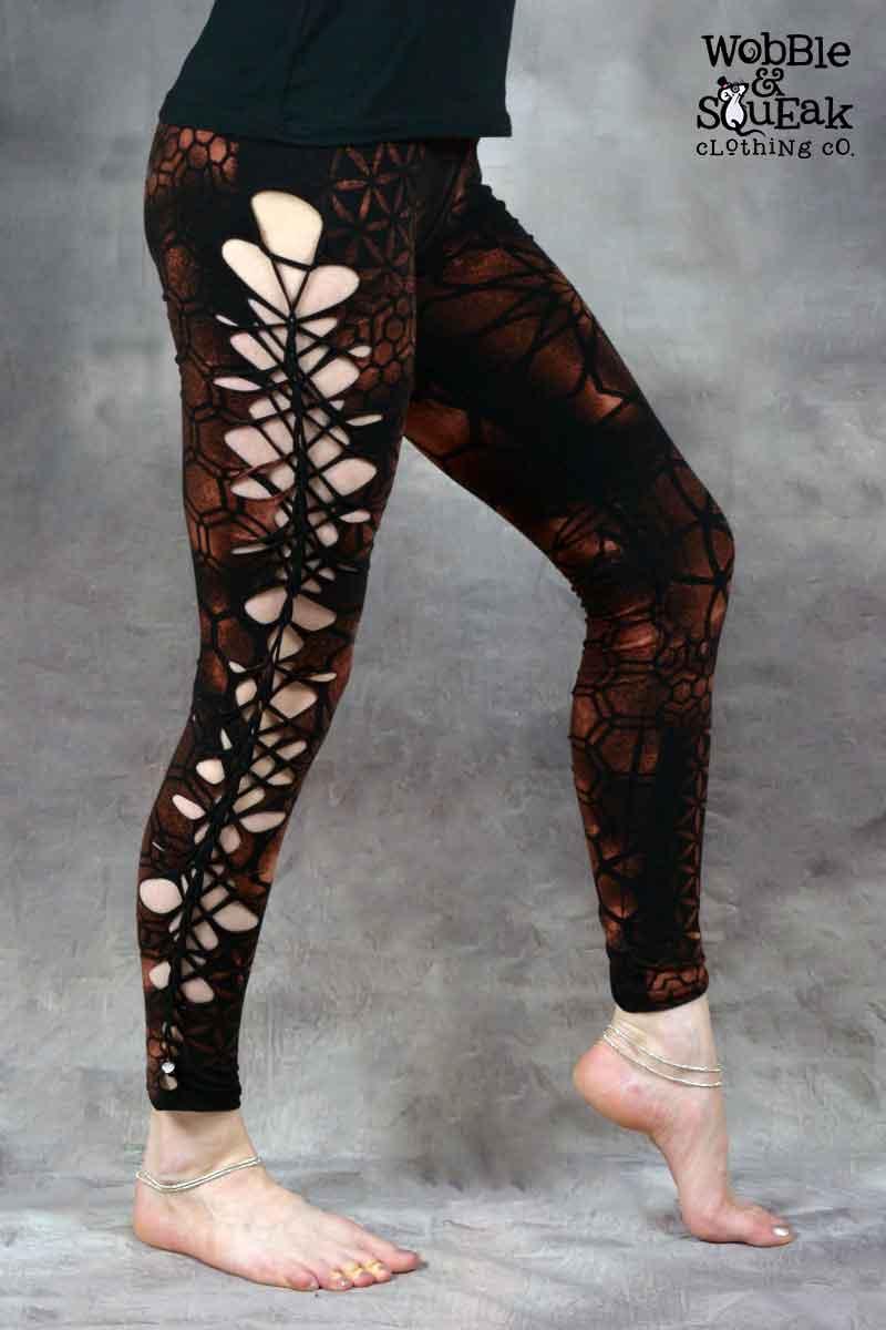 Mandala Leggings Black