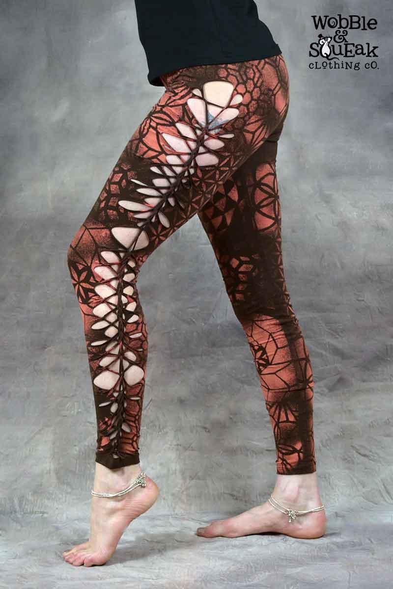 Mandala Leggings Brown