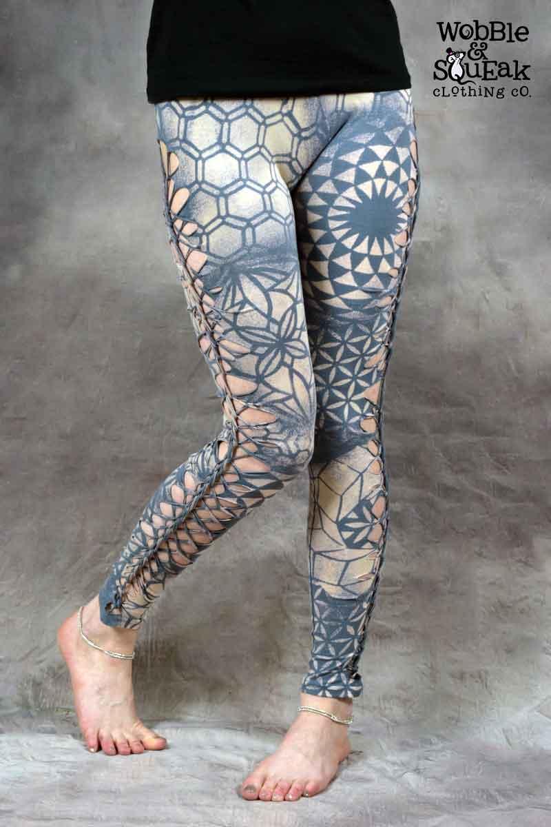 Mandala Leggings Grey