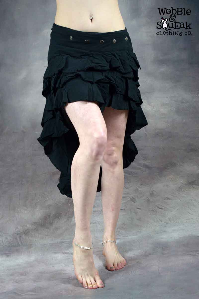 Lunar Skirt Black