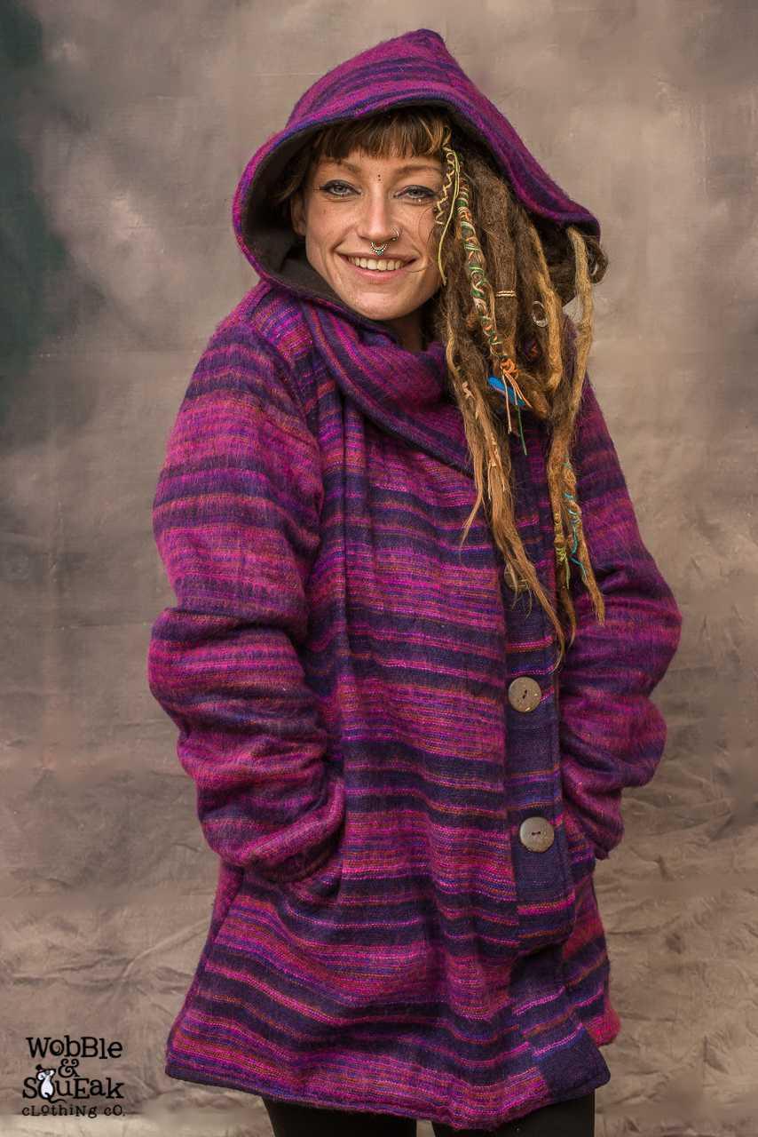 Pixie Jacket Dark Purple