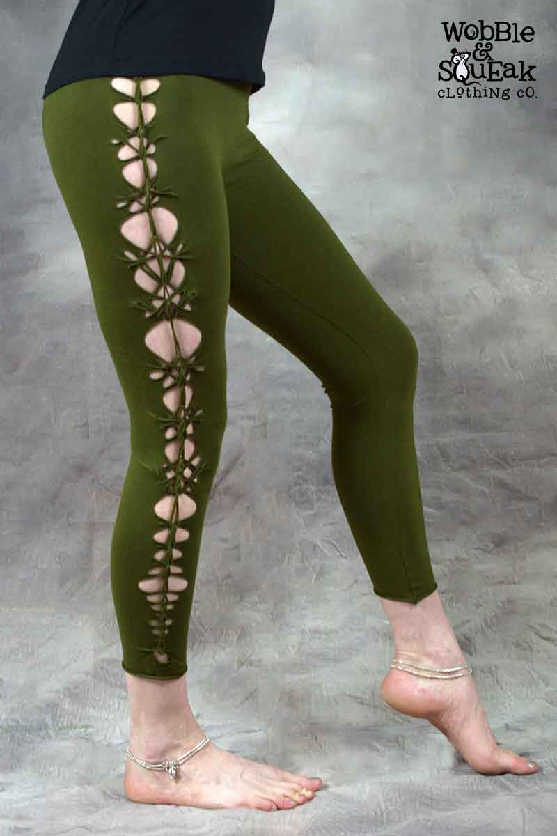 Wobble Leggings Army