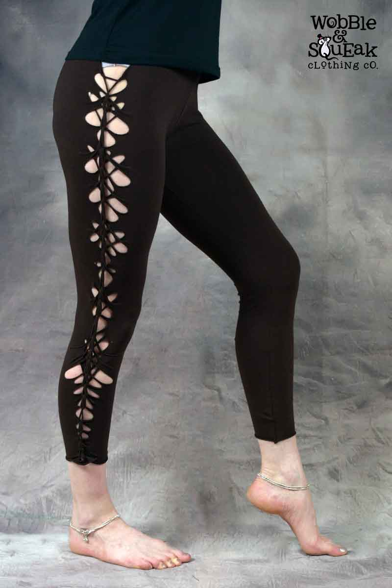 Wobble Leggings Brown