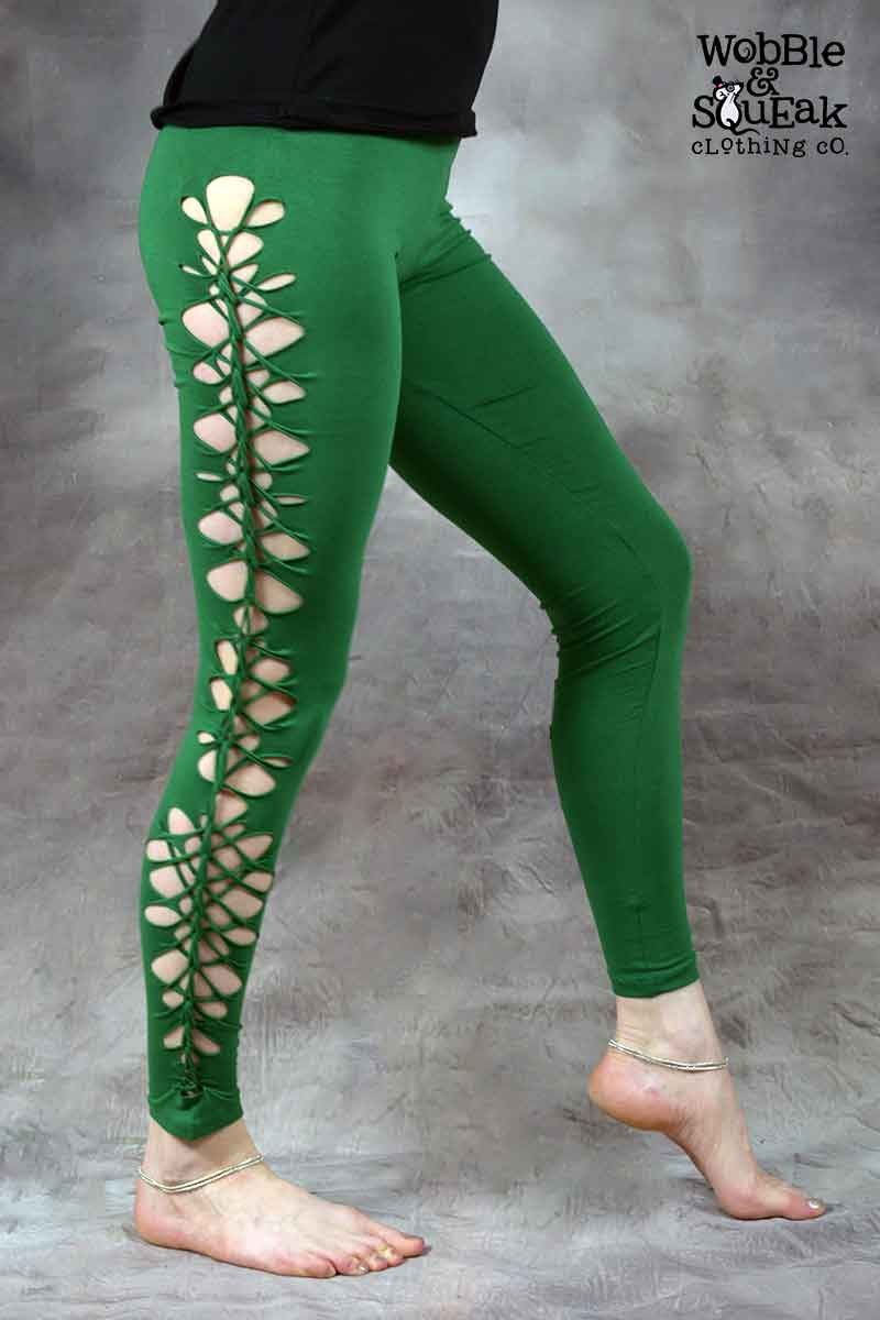 Wobble Leggings Grass Green
