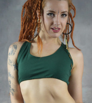 Giri Yoga Bra Forest Green