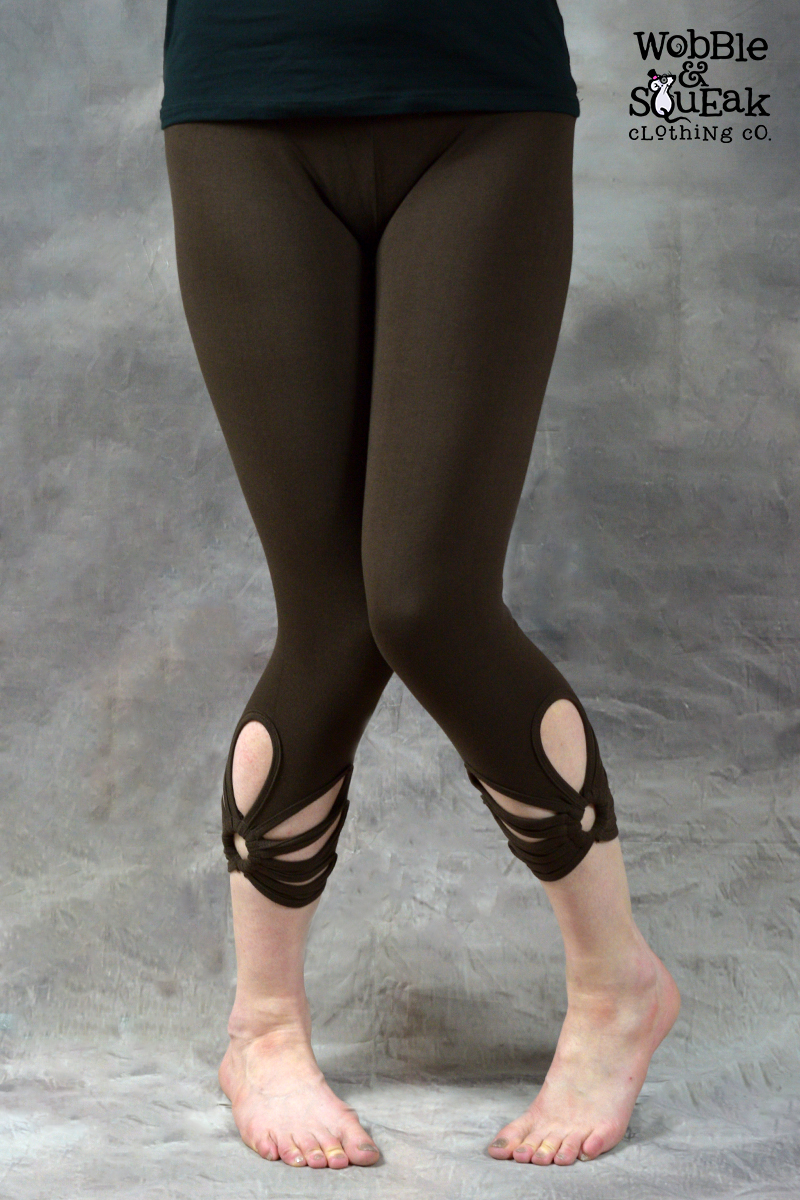 Ringspun Leggings Brown