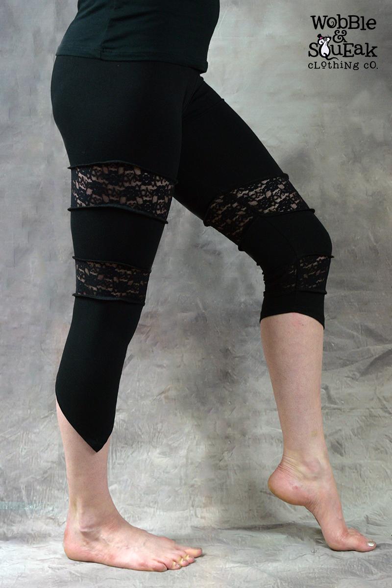 Spin Leggings Black