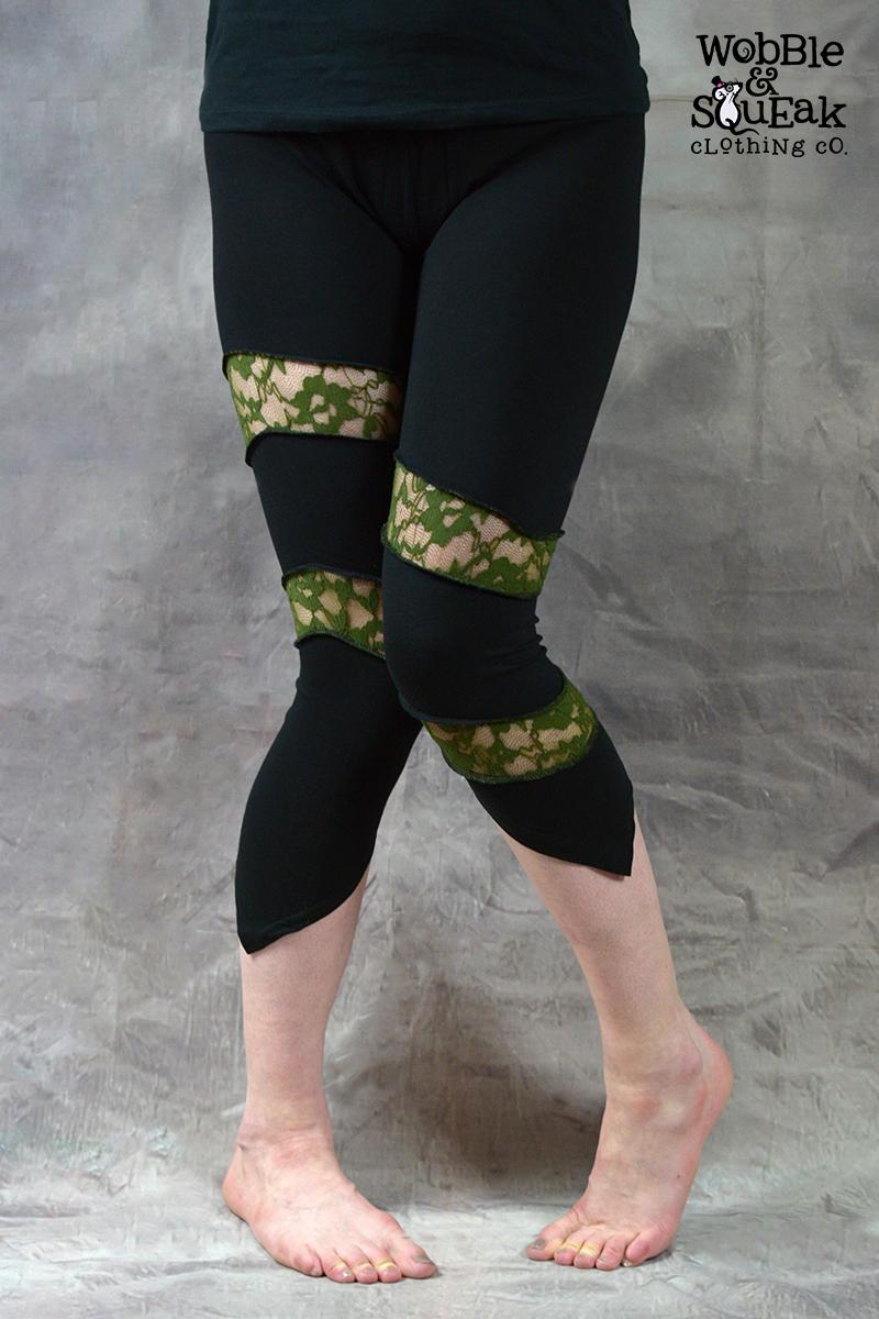 Spin Leggings Green