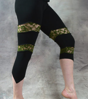 Spin Leggings Green