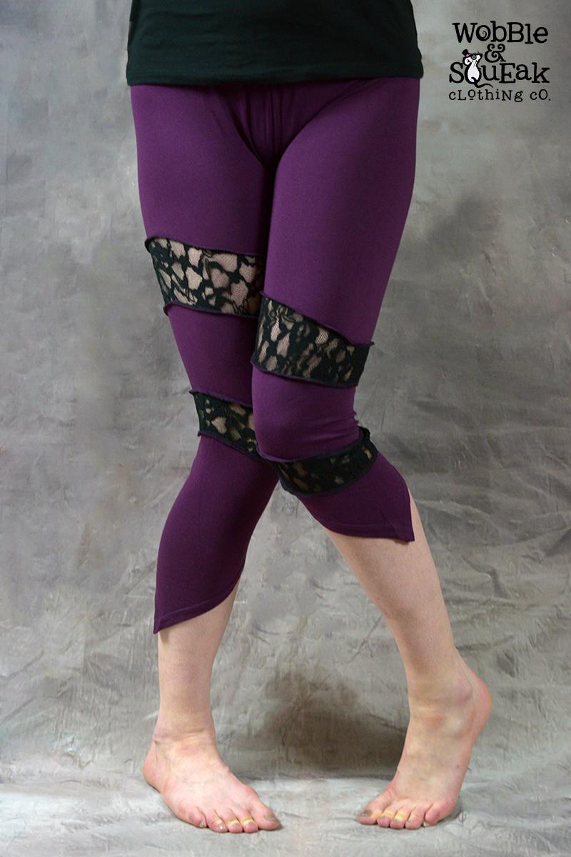 Spin Leggings Purple