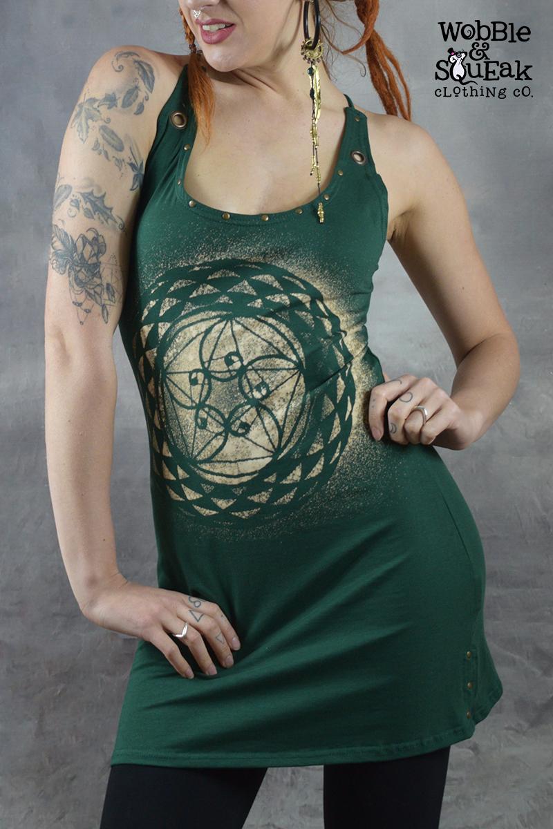 Spirit Pixie Dress Forest