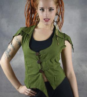 Coco Waistcoat Army Green