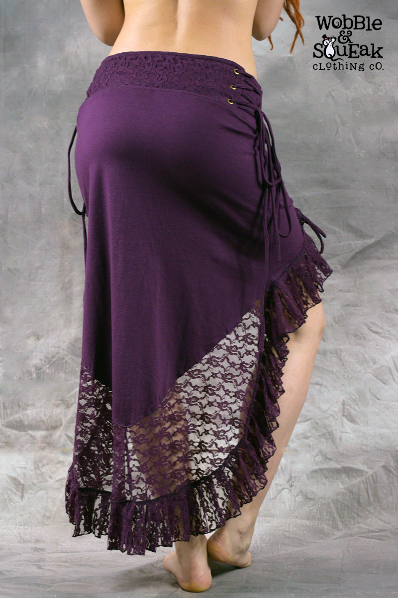 Dream Lace Skirt Purple