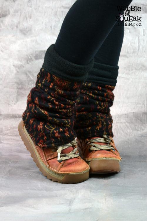 Iree Leg Warmers Black