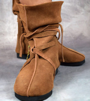 Slouch Boots Camel