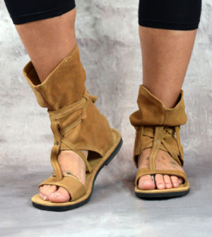 Slouch Sandals Camel