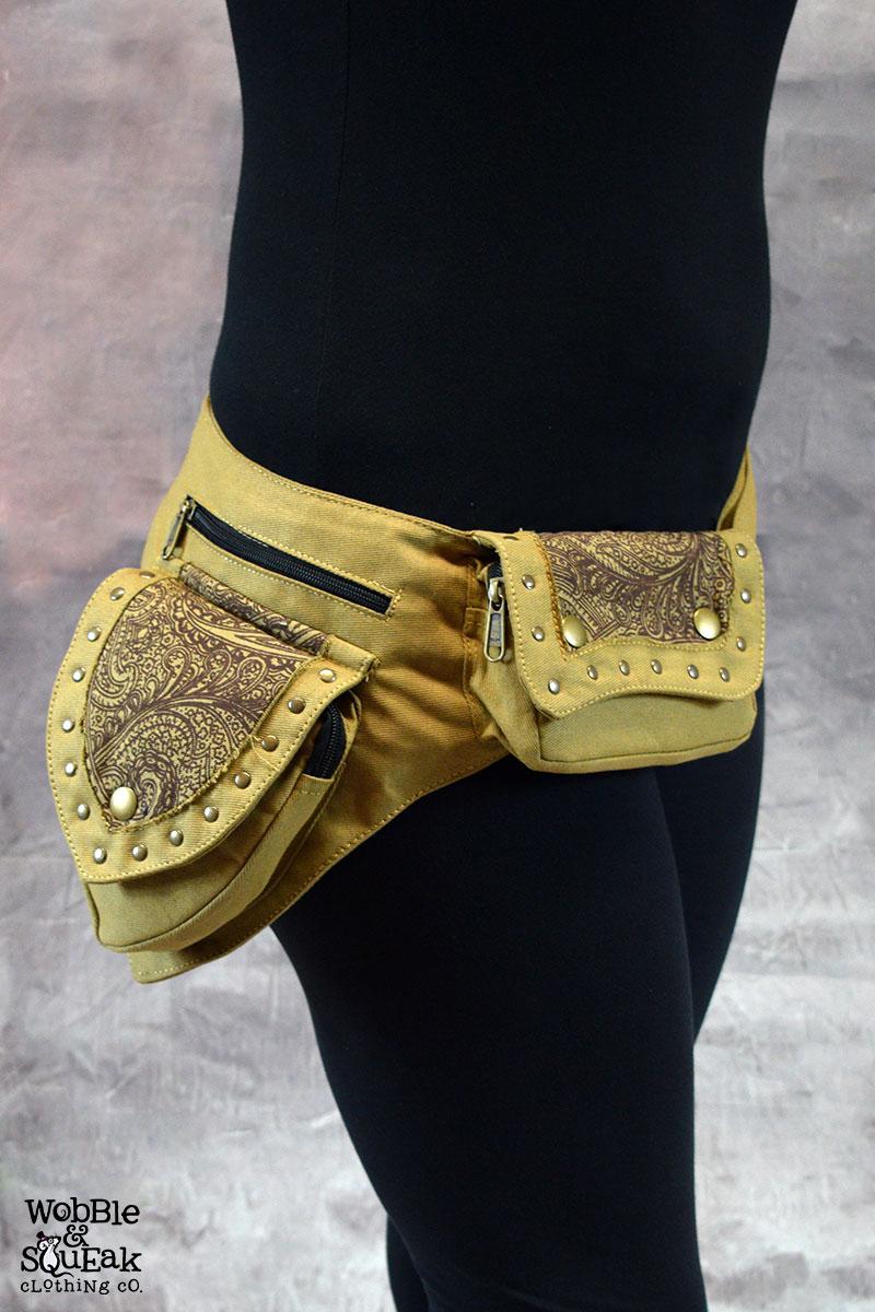 Papaya Pocket Belt Camel