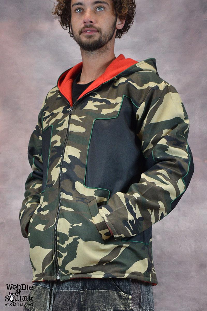 Camo Star Jacket Camo