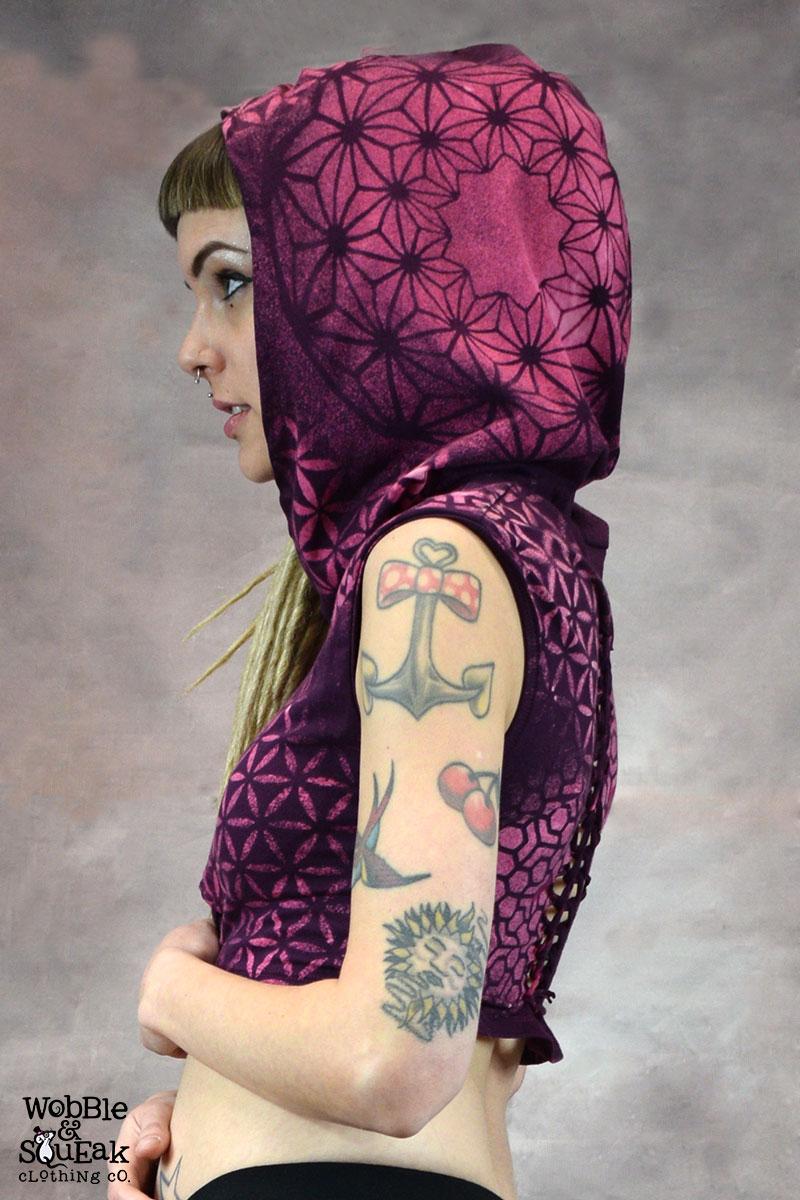 Horizon Knot Top Purple