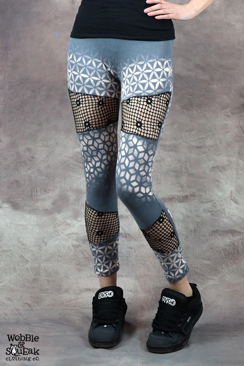 Oracle Net Leggings Grey