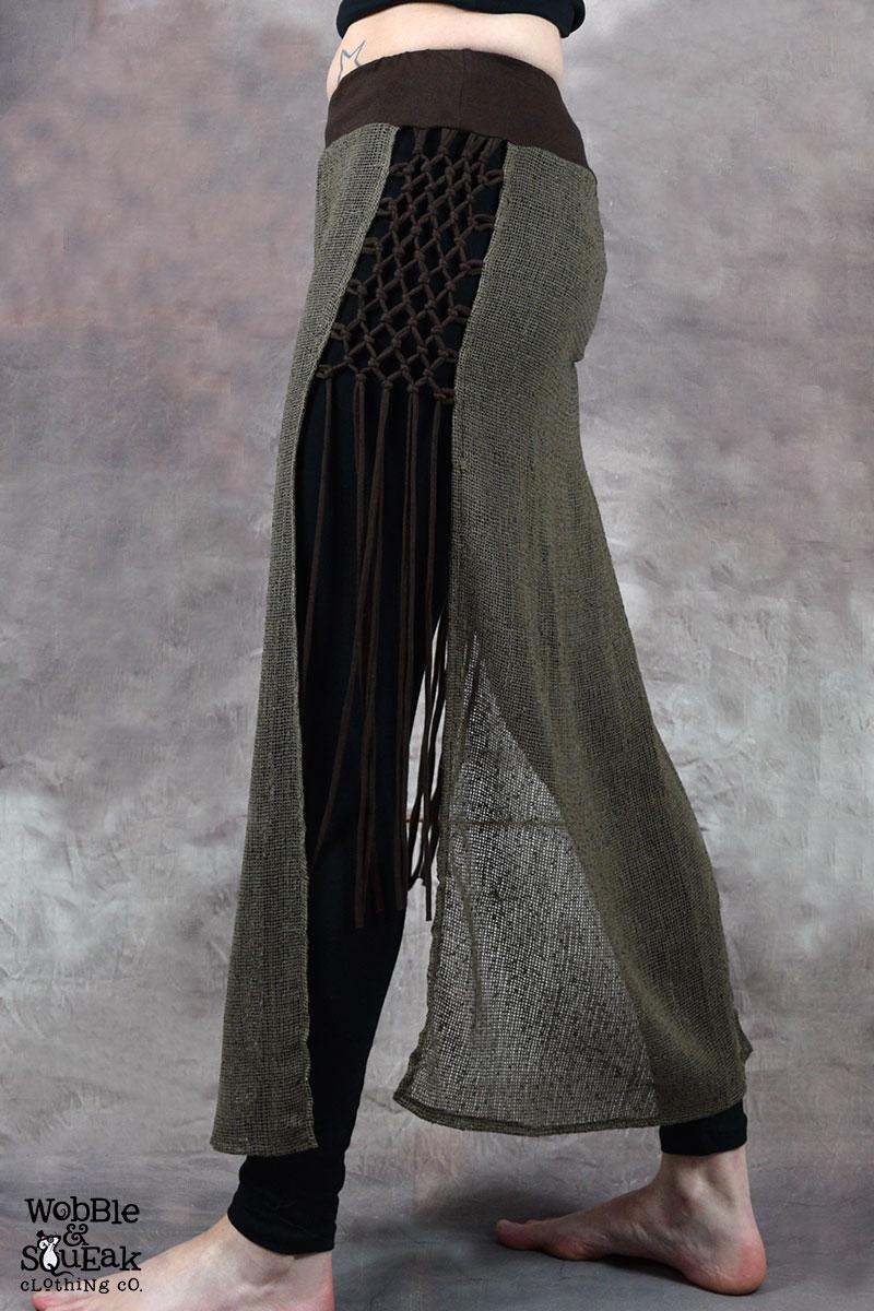 Matrix Trinity Skirt Brown with Beige