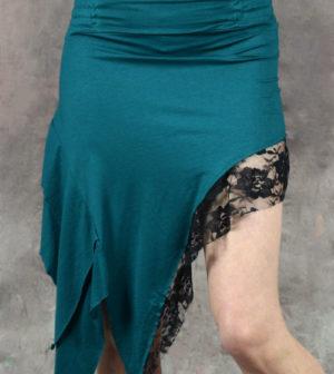 Zena Lace Skirt Turquoise