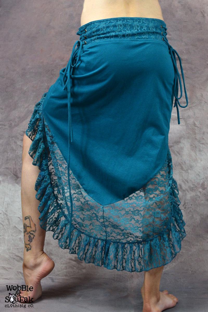 Petrol-Sita-Skirt