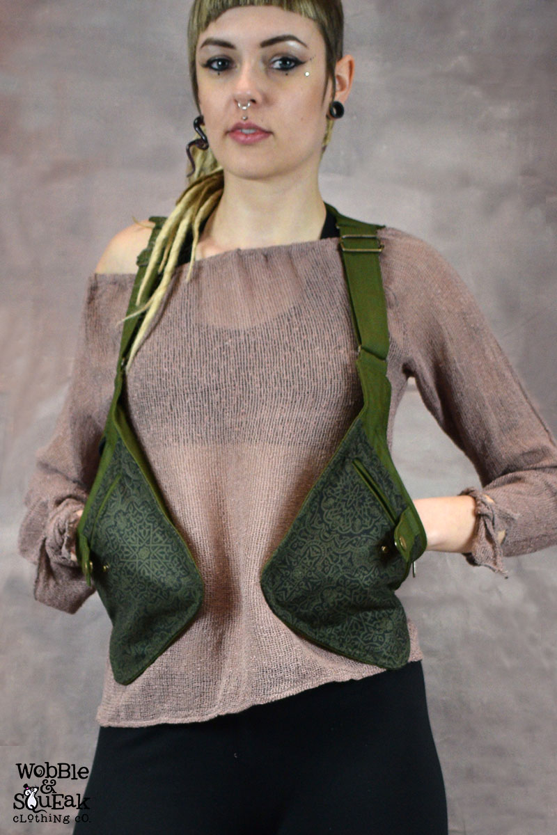 Freestyle Pocket Waistcoat Army