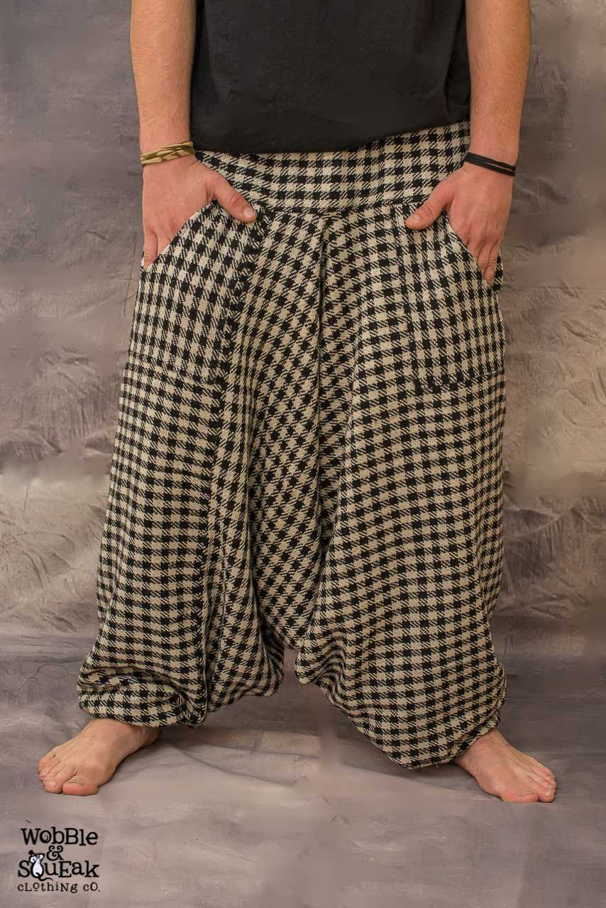 Kashmiri Harem Pants Checkered