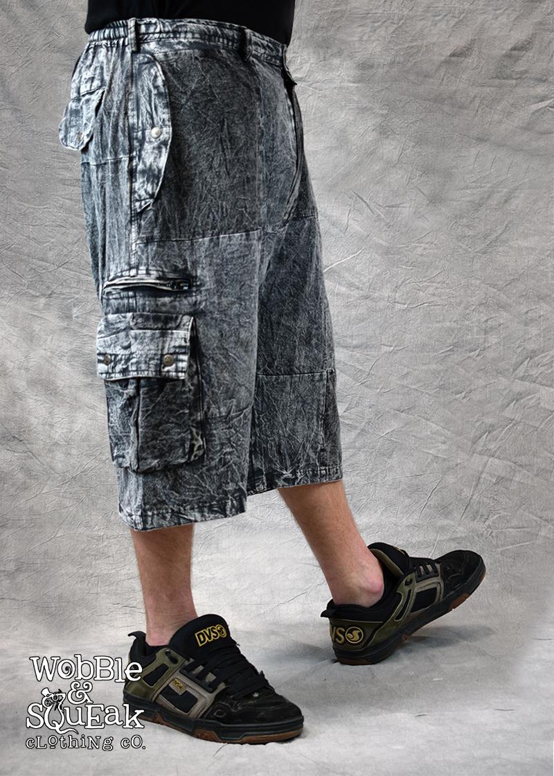 Patchstone Shorts Grey